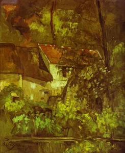 Paul Cezanne - House of Père Lacroix