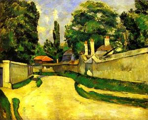 Paul Cezanne - Houses on the Roadside