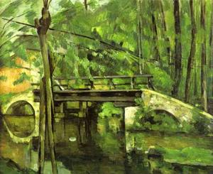 Paul Cezanne - The Bridge of Maincy near Melun