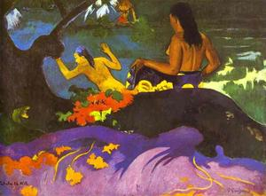 Paul Gauguin - Near the Sea