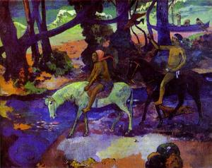 Paul Gauguin - Running Away