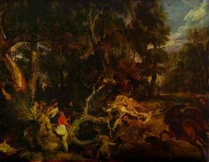 Peter Paul Rubens - A Boar Hunt