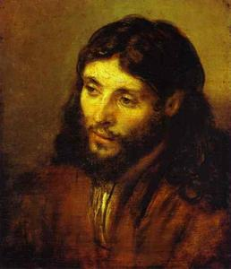 Rembrandt Van Rijn - The Head of Christ