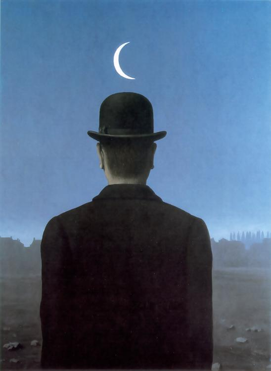 The schoolmaster, Oil On Canvas by Rene Magritte (1898-1967, Belgium)