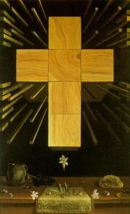 Salvador Dali - Arithmosophic Cross