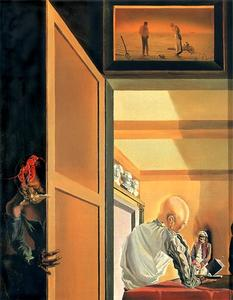 Salvador Dali - Gala and the Angelus of Millet