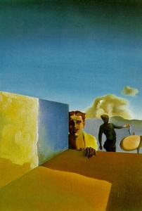 Salvador Dali - Hairdresser Depressed by the Persistent Good Weather, 1934