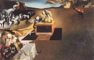 Salvador Dali - The Invention of the Monsters, 1937