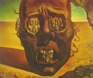 Salvador Dali - Visage of War, 1940
