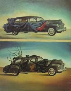 Salvador Dali - Car Clothing (Clothed Automobile), 1941