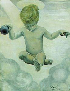 Salvador Dali - The Infant Jesus, 1956