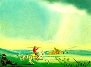 Salvador Dali - St. George and the Dragon, 1962