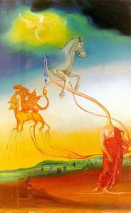 Salvador Dali - The Second Coming of Christ, 1971