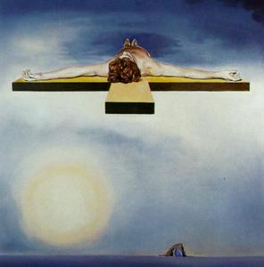 Salvador Dali - Gala-s Christ (stereoscopic work, right component), 1978