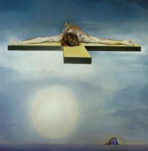 Salvador Dali - Gala-s Christ (stereoscopic work, left component), 1978