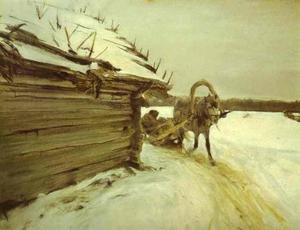 Valentin Alexandrovich Serov - In Winter