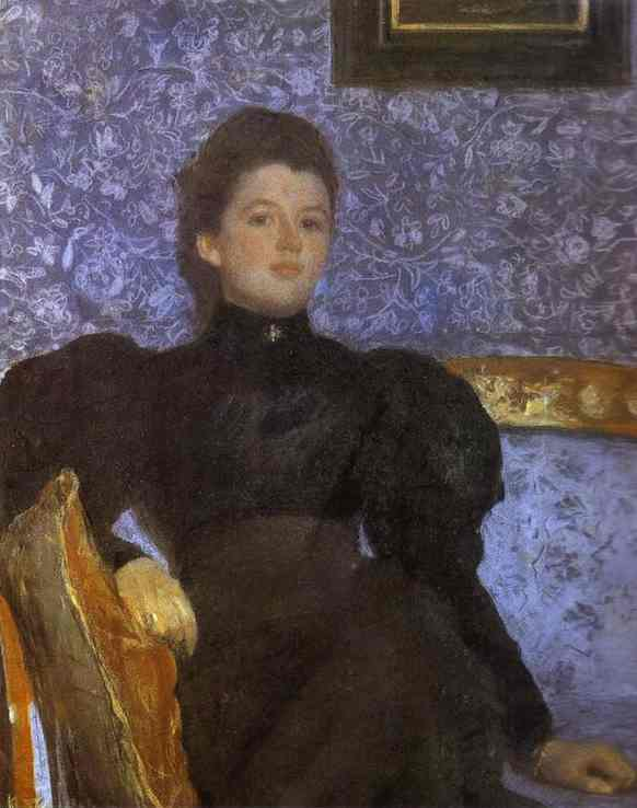 Order Paintings Reproductions | Portrait of Countess Varvara Musina-Pushkina by Valentin Alexandrovich Serov (1865-1911, Russia) | ArtsDot.com