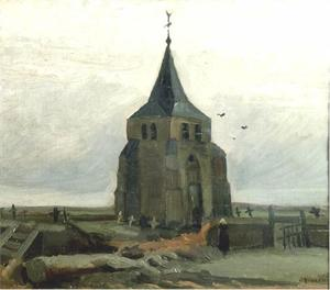 Vincent Van Gogh - Old Church Tower at Nuenen, The