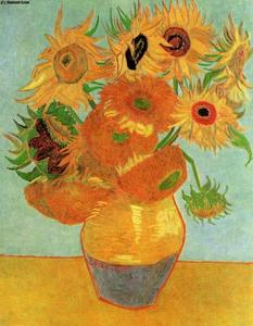 Vincent Van Gogh - Still Life Vase with Twelve Sunflowers