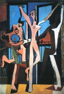 Pablo Picasso - The Three Dancers
