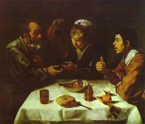 Diego Velazquez - The Farmers- Lunch