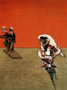 Francis Bacon - crucifixion, 1965 right