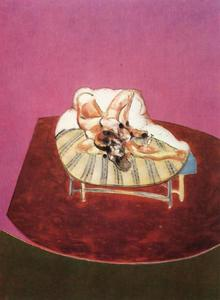 Francis Bacon - lying figure with hypodermic syringe, 1963