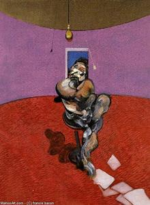Francis Bacon - portrait of george dyer talking, 1966