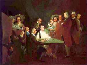 Francisco De Goya - The Family of the Infante Don Luis de Borb n