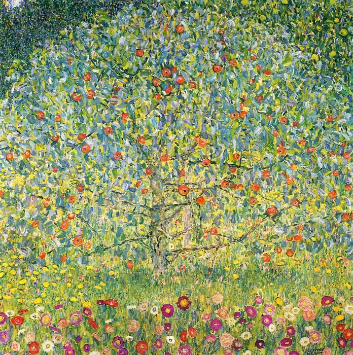 Apple Tree01, 1912 by Gustav Klimt (1862-1918, Austria) | Art Reproduction | ArtsDot.com