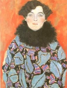 Gustav Klimt - Portrait of Johanna Staude(unfinished)