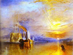 William Turner - The Fighting Temeraire Tu..