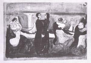 Edvard Munch - Study for the Dance of Life