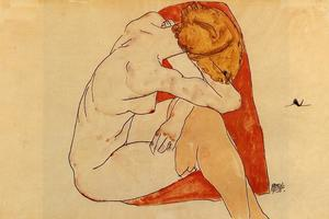 Egon Schiele - Seated Woman