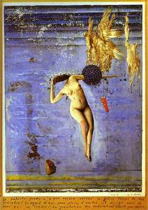 Max Ernst - Approaching Puberty or The Pleiads