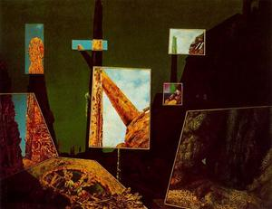 Max Ernst - Day and Night