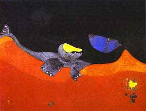 Max Ernst - Sign for a School of Monsters