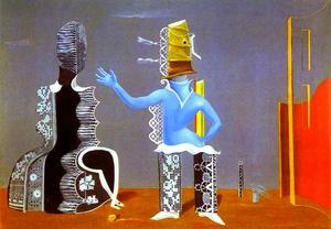 Max Ernst - The Couple or The Couple in Lace