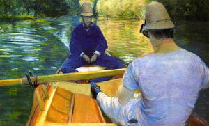Gustave Caillebotte - Boaters on the Yerres