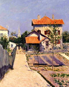 Gustave Caillebotte - The Artist-s House at Petit Gennevilliers