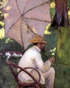 Gustave Caillebotte - The Painter under His Parasol