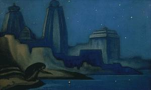 Nicholas Roerich - Lights on the Ganges 2