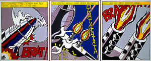 Roy Lichtenstein - As i opened