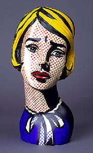 Roy Lichtenstein - Head