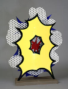 Roy Lichtenstein - Small explosion