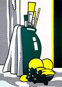 Roy Lichtenstein - Still Life with Green Vase