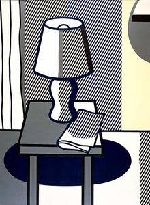 Roy Lichtenstein - Still Life with Table Lamp