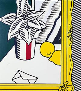 Roy Lichtenstein - Painting (Still Life With Envelope)