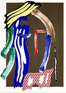 Roy Lichtenstein - Brushstroke Head (untitled) (1986)