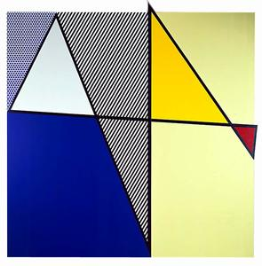 Roy Lichtenstein - Imperfect Painting 3